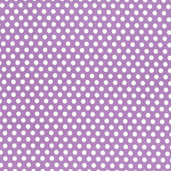 Polka Dots - Kiss Dot -  Purple Remnant
