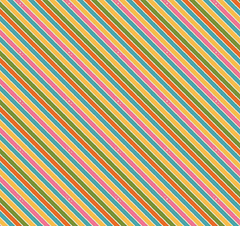 Stripe Rainbows & Unicorns Remnant