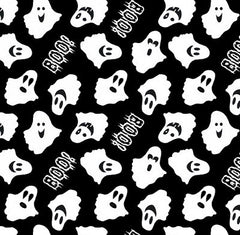 Ready Set Glow Halloween Fabric Ghosts