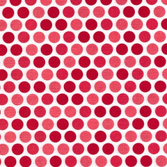 Christmas Fabric Santa Express Polka Dots
