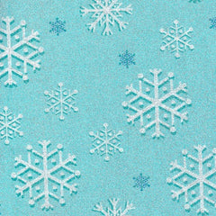 Christmas Fabric Snowfall Glitter Blizzard