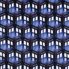 Dr Who Fabric Tardis Remnant
