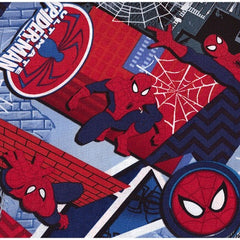 Ultimate Spiderman Grey Cotton Remnant