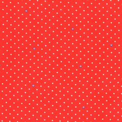 Pin Dot Coral Childrens Cotton 1/2 Metre