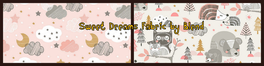 Childrens fabric animals by Blend