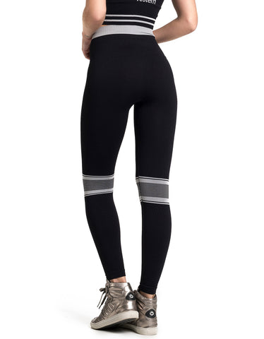 Legging Fusô Seamless Cross Fashion Preto