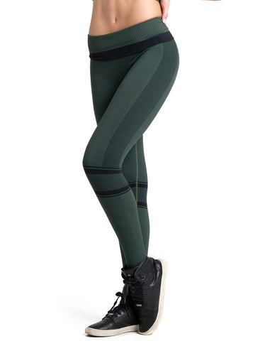 Legging Fusô Seamless Cross Fashion Militar