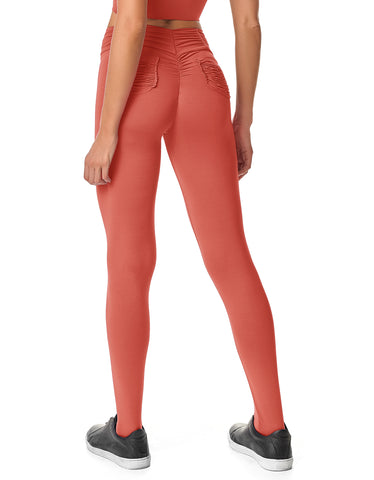 Legging Fusô Empina Bumbum Fact Rosa Madras