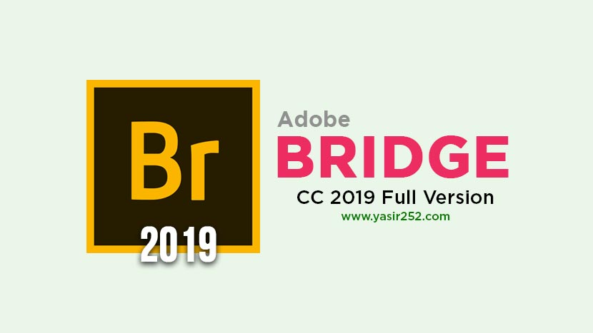 Adobe Bridge CC 2019  64-Bit  - Full Version for PC - Lifetime License