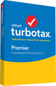 TurboTax Premier 2018  (PC Version)