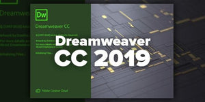 Adobe Dreamweaver CC 2019 64 Bit - Full Version for PC - Lifetime License