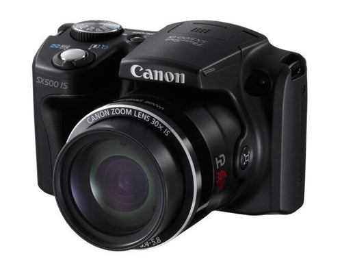 USED Canon  PowerShot SX500 IS 16.0 MP Digital Camera with 30x Wide-Angle Optical