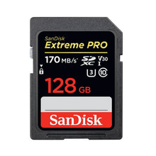 Load image into Gallery viewer, SanDisk Secure Digital Memory Card 256GB 128GB 64GB SDXC 32GB 16GB Camera SD Flash Memory Card For Digital SLR Camera Camcorder