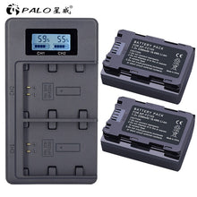 Load image into Gallery viewer, PALO 1-4pcs Battery NP-FZ100 NP FZ100 digital Camera Battery for Sony A9 A7R A7 ILCE-9 ILCE9 ILCE-7RM3 ILCE-7M3 Mark III camera