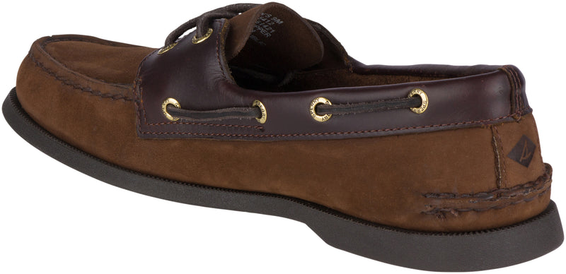 Sperry Men's Authentic Original Leather Boat Shoe Brown Buck