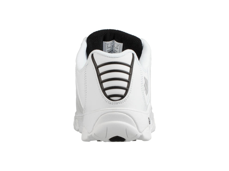 K-Swiss Men's ST329 CMF White/Black/Silver