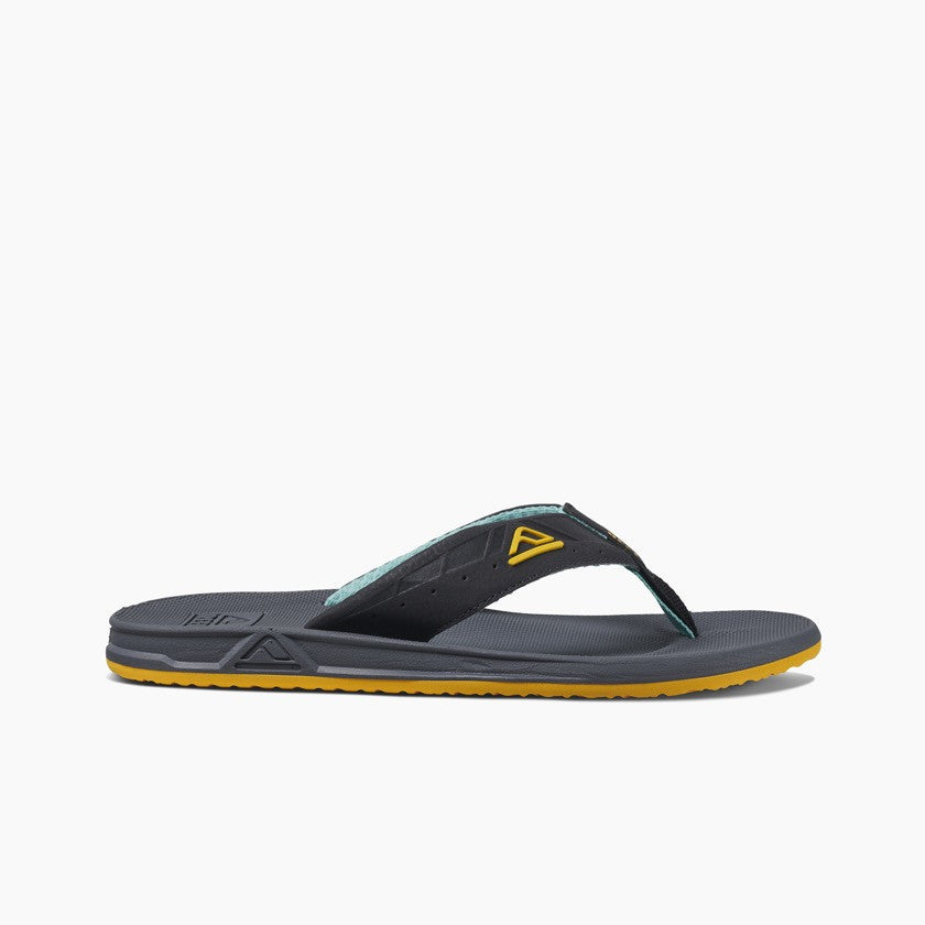Reef Men's Phantoms Sport Sandal Aqua/Yellow