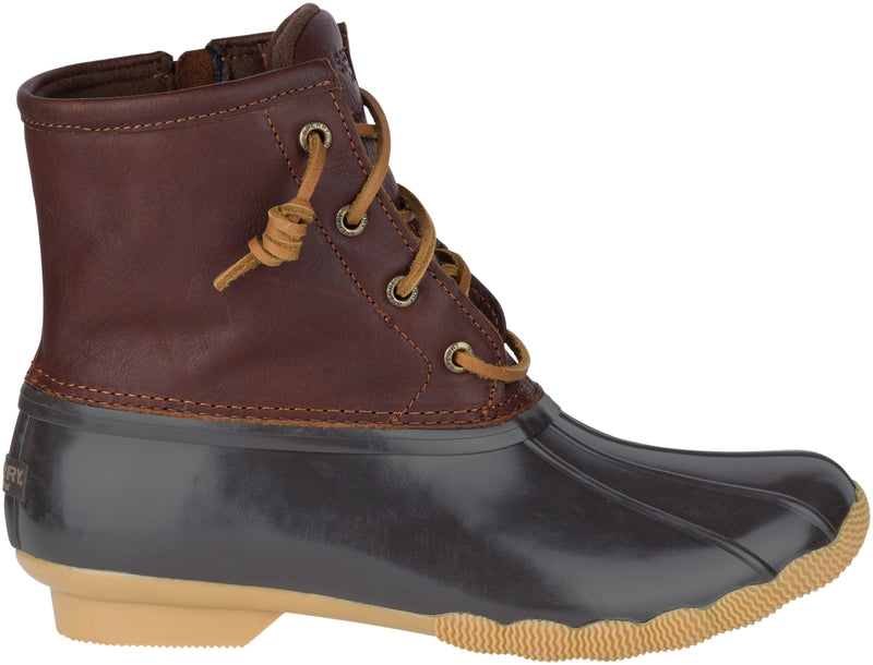 Sperry Women's Saltwater Duck Boot Tan/Navy