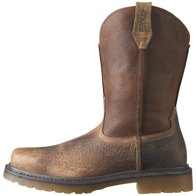 Ariat Men's Rambler Work Steel Toe Work Boot Earth Brown