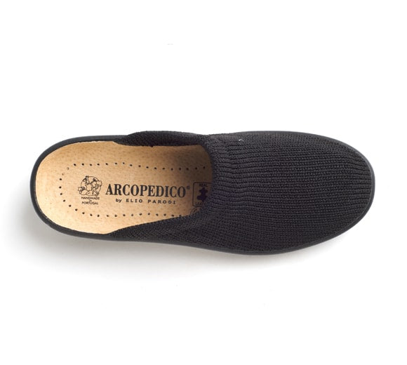 Arcopedico Women's Light Slip-On Black