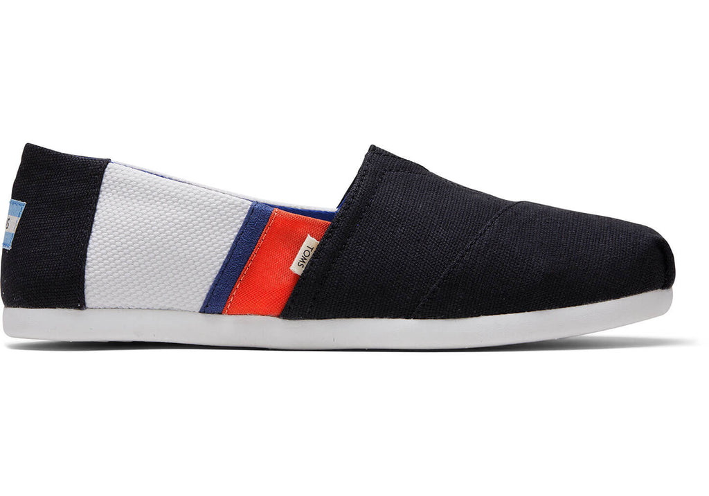 Toms Men's Blocked Classics Black White