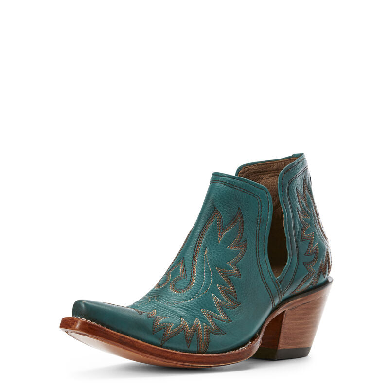 Ariat Women's Dixon Western Boot AGATE GREEN