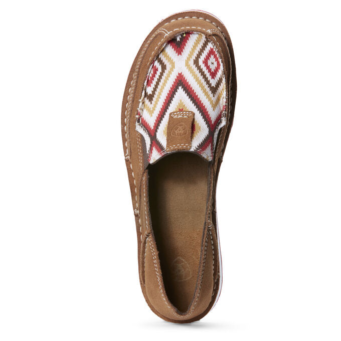 Ariat Women's Cruiser New Earth Suede/Red Aztec