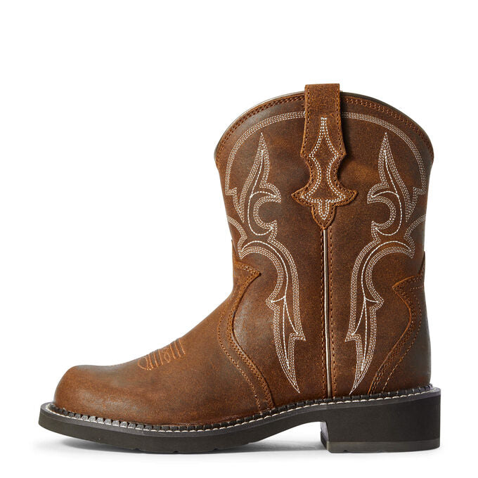 Ariat Women's Fatbaby Heritage Triad Western Boot Gingersnap