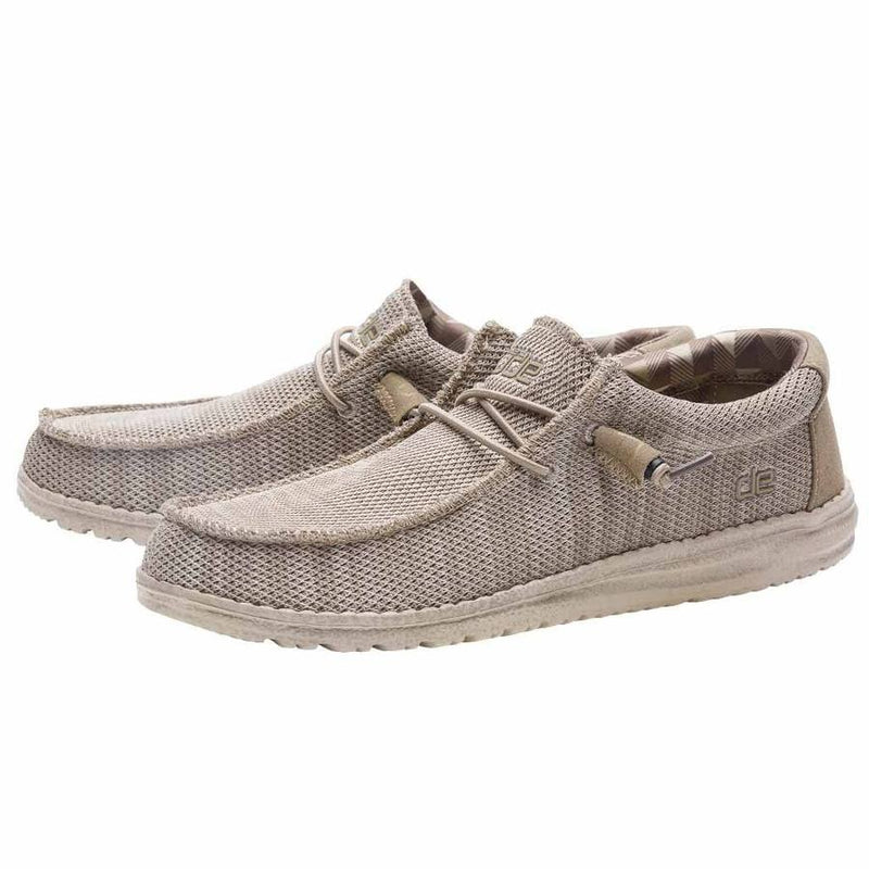 Hey Dude Men's Wally Sox Classic Beige