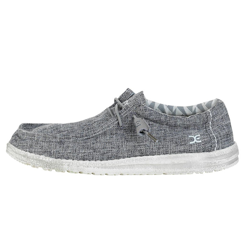 Hey Dude Men's Wally Canvas Linen Iron