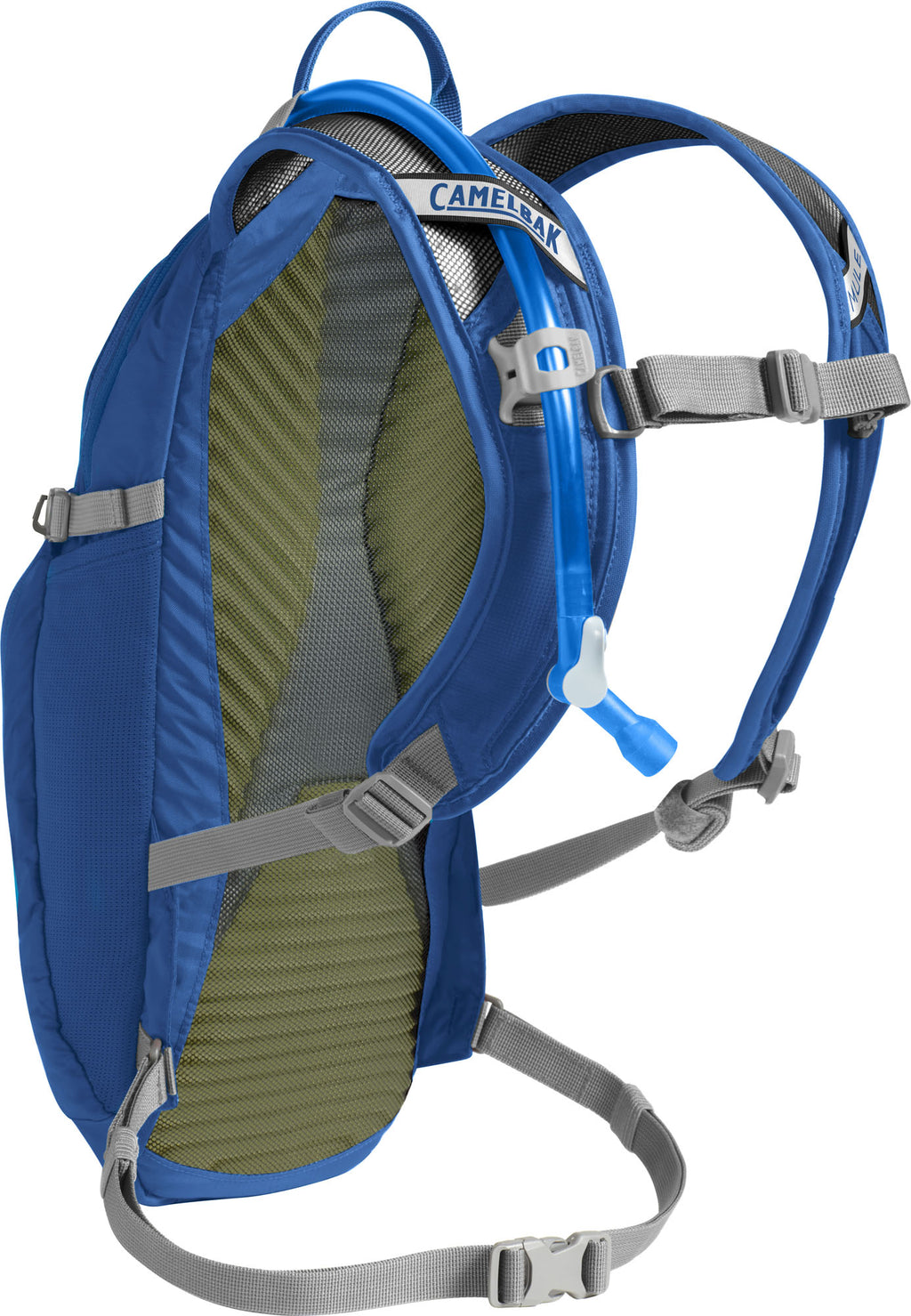 CamelBak LOBO 100oz Cycling Hydration Pack Lapis Blue/Silver