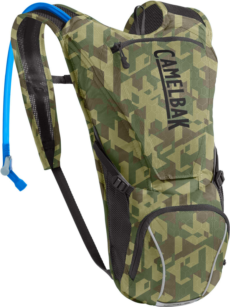 CamelBak Rogue 85oz Hydration Pack Lapis Racing Camo/Black