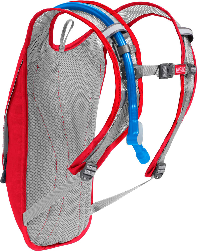 CamelBak HydroBak 50oz Hydration Pack for Cycling Racing Red/Silver