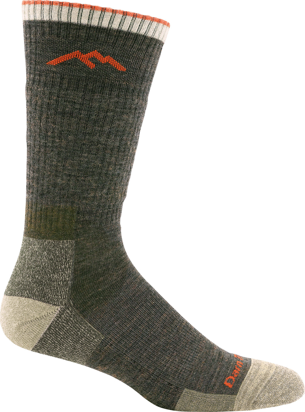 Darn Tough Men's Hiker Boot Sock Cushion Olive