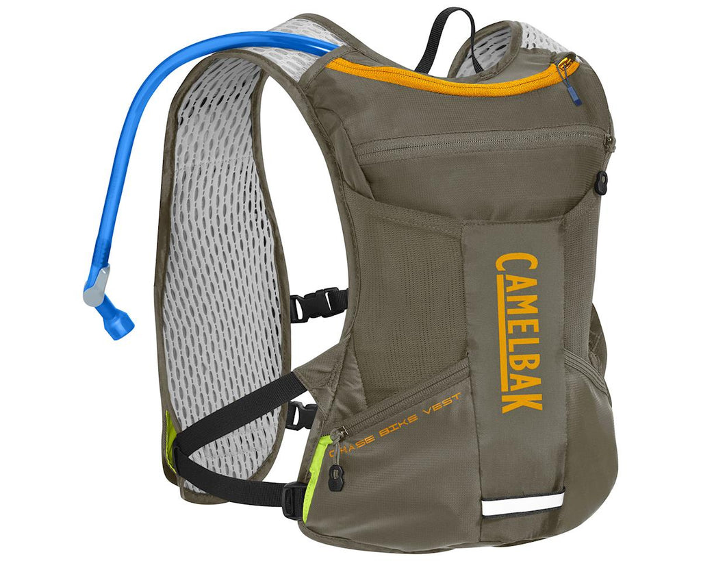 CamelBak Chase Bike Vest 50oz Shadow Gray/Iceland Poppy