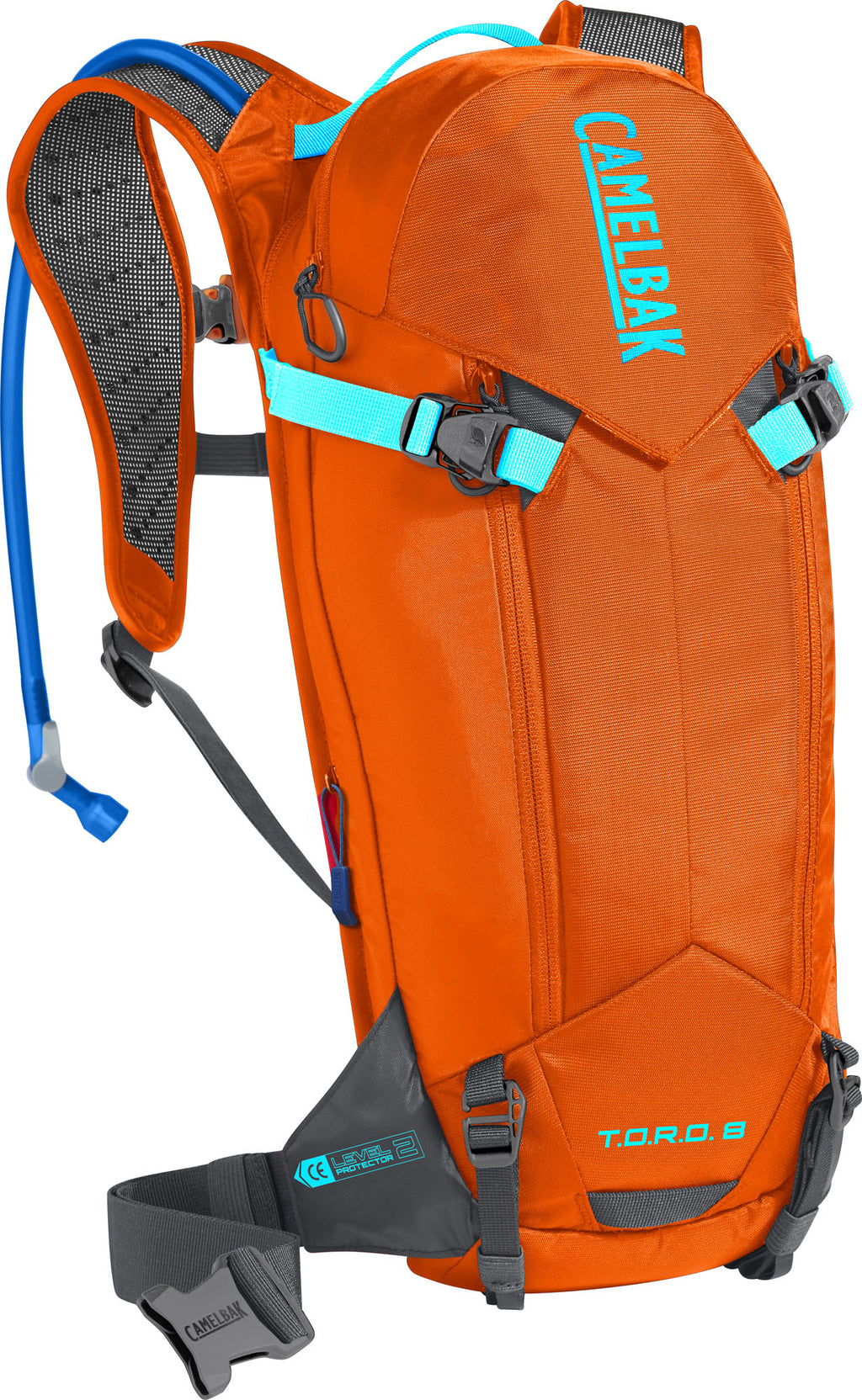 CamelBak T.O.R.O Protector 8 100oz Red Orange/Charcoal