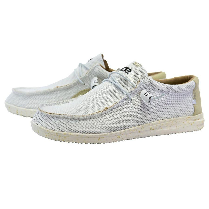 Hey Dude Men's Wally Free Total White