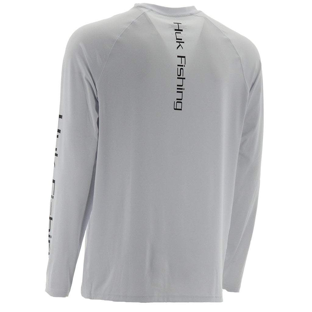 Huk Pursuit Vented Long Sleeve White