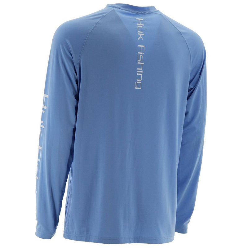 Huk Pursuit Vented Long Sleeve Carolina Blue