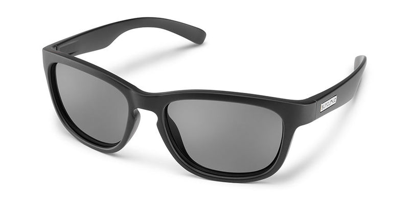 Suncloud Cinco Small-Medium Fit Matte Black/Polar Gray