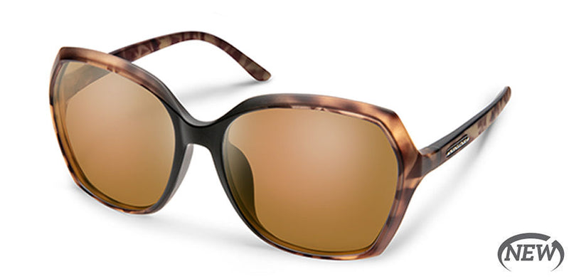 Suncloud Adelaide Medium Fit Matte Cola Tortoise Fade/Polarized Brown