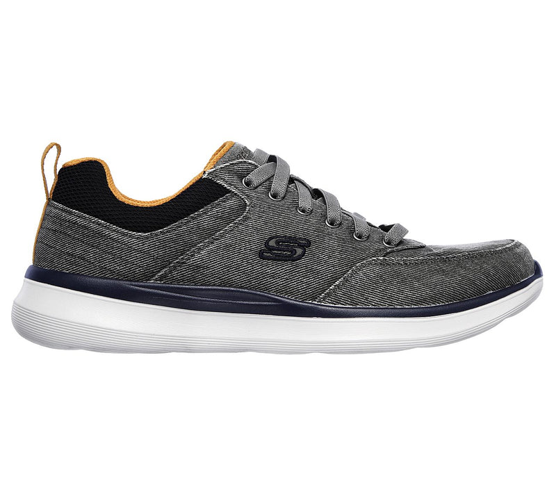 Skechers Men's Delson 2.0 - Kemper Charcoal