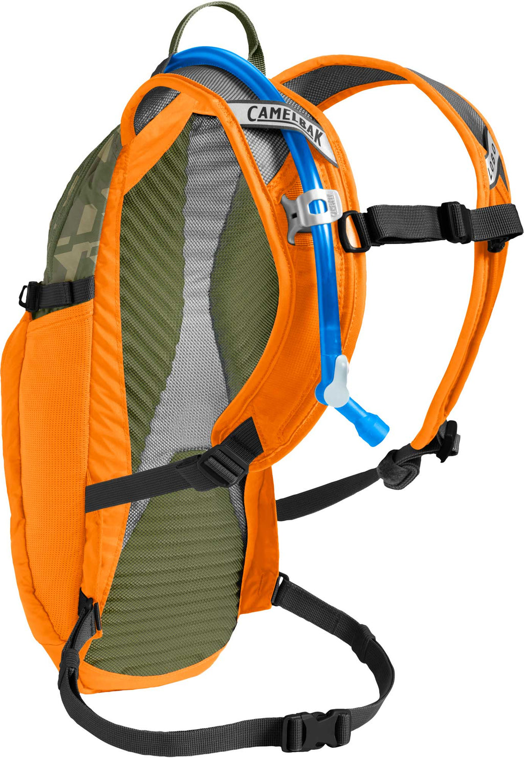 CamelBak LOBO 100oz Cycling Hydration Pack Russet Orange/Camelflage