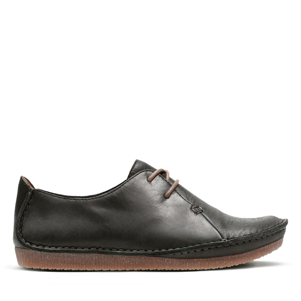 Clarks Janey Mae Women's Black Leather