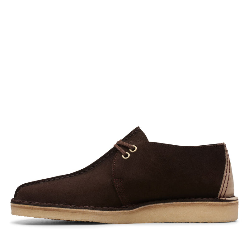 Clarks Men's Desert Trek Dark Brown