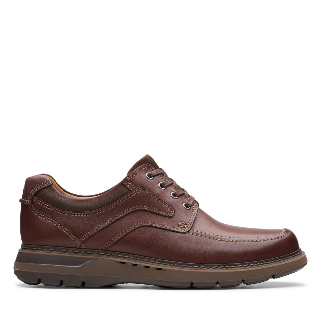 Clarks Men's Un Ramble Lace Mahogany
