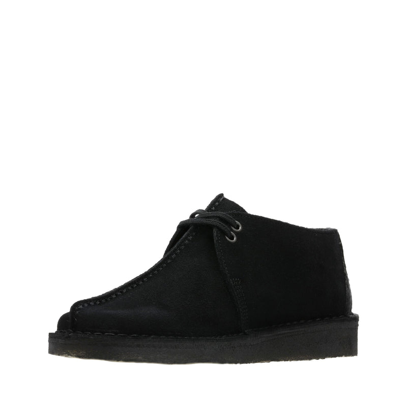Clarks Men's Desert Trek Black Suede
