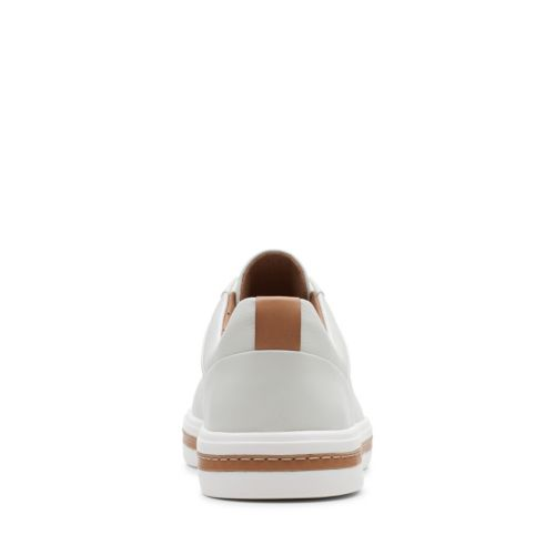 Clarks Women's Un Maui Lace White Leather