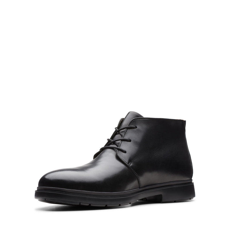 Clarks Men's Un Tailor Mid Black