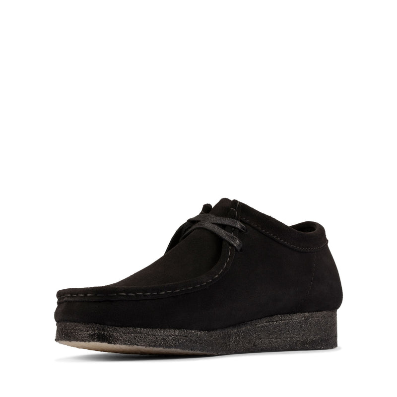 Clarks Men's Wallabee Black Suede